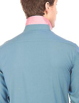 Arrow Sports Slim Fit Cotton Twill Shirt