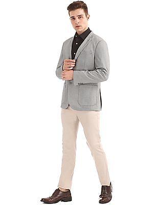 U.S. Polo Assn. Patterned Slim Fit Blazer