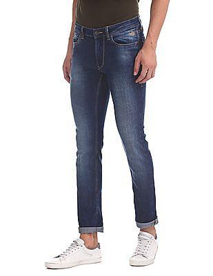 Flying Machine Jackson Skinny Fit Stone Wash Jeans