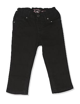 The Children's Place Toddler Girl Basic Skinny Jeans - Black Wash