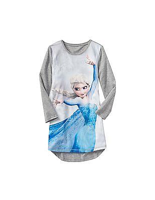 GAP Girls Disney Elsa Nightgown