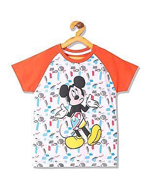 Colt Boys Mickey Mouse Print T-Shirt
