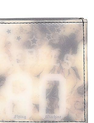 Flying Machine Beige Printed Bi-Fold Wallet