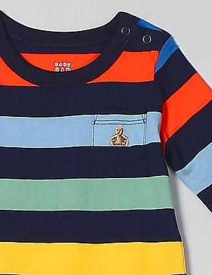 GAP Baby Stripe Long Sleeve Bodysuit