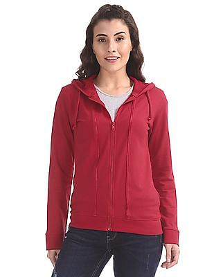 SUGR Hooded Zip Up Sweatshirt