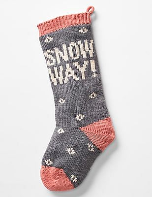 GAP Boys Graphic Intarsia Stocking