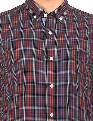 Nautica Button Down Check Shirt