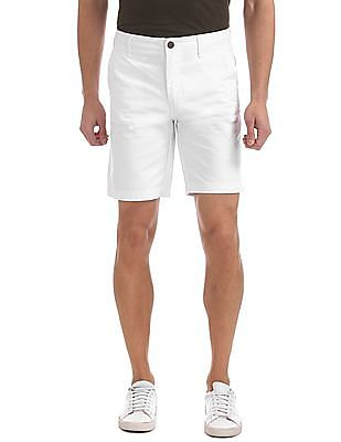 Aeropostale Solid Twill Shorts