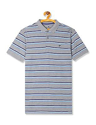 Ruggers Contrast Stripe Short Sleeve Polo Shirt