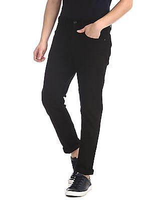 U.S. Polo Assn. Denim Co. Black Delta Slim Fit Rinsed Jeans