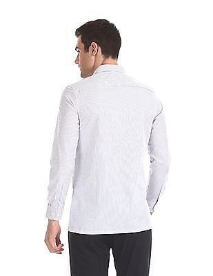 Excalibur Long Sleeve Striped Shirt - Pack Of 2
