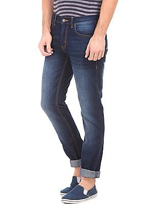 Newport Stone Washed Slim Fit Jeans