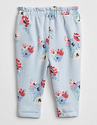 GAP Baby Floral Pull-On Pants