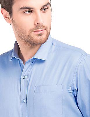 Excalibur Jacquard Regular Fit Shirt