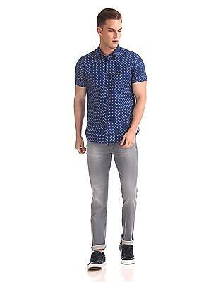 U.S. Polo Assn. Denim Co. Short Sleeve Printed Shirt