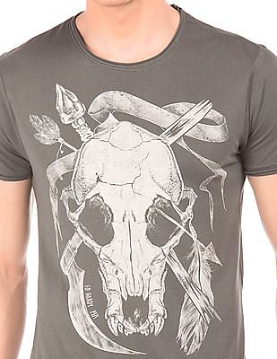 Ed Hardy Slim Fit Graphic T-Shirt