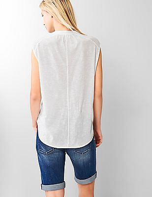 GAP Split-Neck Tee