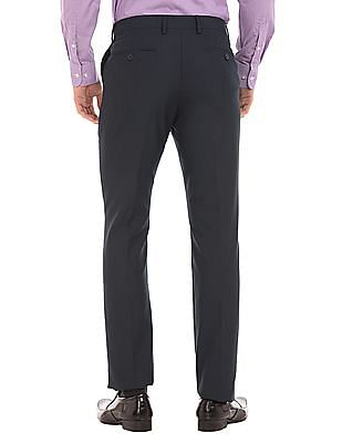 Arrow Patterned Tapered Fit Trousers