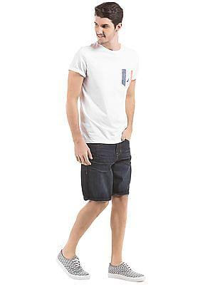 Nautica Printed Pocket Slim Fit T-Shirt