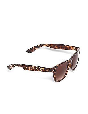Flying Machine Brown Tortoise Shell UV Protected Sunglasses