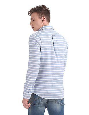 U.S. Polo Assn. Tailored Regular Fit Striped Shirt