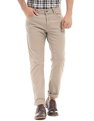 Nautica Solid Slim Fit Pants