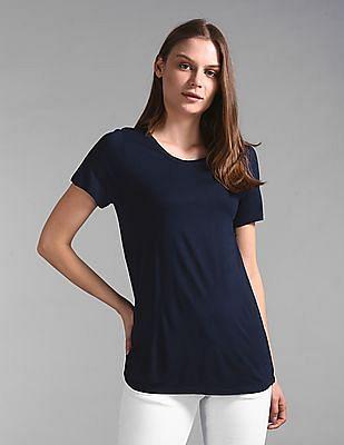 GAP Short Sleeve Luxe Top