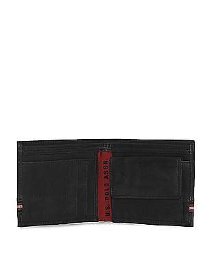 U.S. Polo Assn. Striped Panel Bi-Fold Wallet
