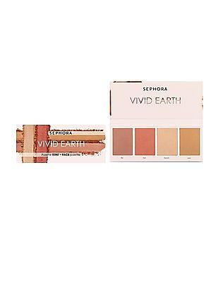 Sephora Collection Vivid Earth Face Palette - Orange Ground
