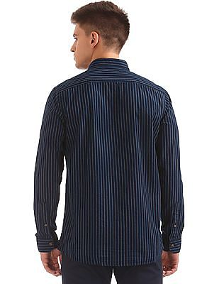 Ruggers Regular Fit Striped Shirt