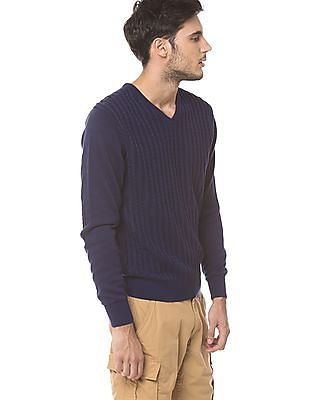 Izod Slim Fit V-Neck Sweater