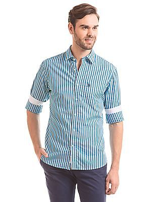U.S. Polo Assn. Tailored Fit Striped Shirt