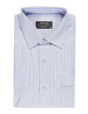 Arrow Stitchless Striped Shirt