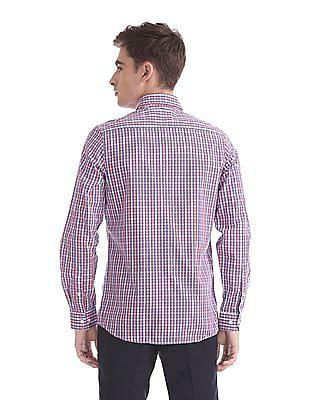 Excalibur Slim Fit Cutaway Collar Shirt