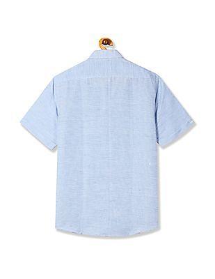 Arrow Newyork Short Sleeve Patterned Shirt