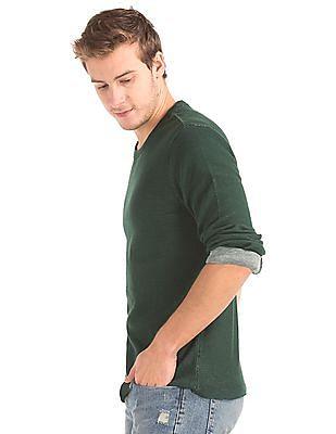 GAP Waffle Knit Crew T-Shirt