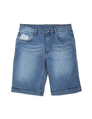 FM Boys Boys Washed Denim Shorts