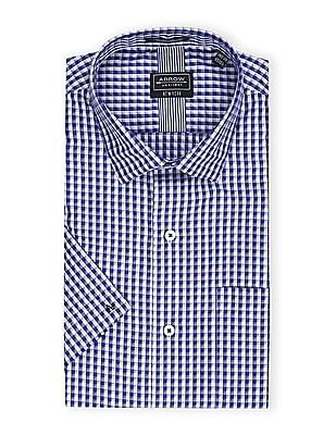 Arrow Newyork Slim Fit Checked Shirt