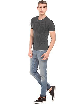 Ed Hardy Stud Embellished Slim Fit T-Shirt