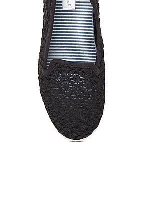 Aeropostale Lace Slip On Shoes