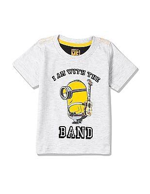 bd3a57230 Buy Boys Boys Minions Print T-Shirt online at NNNOW.com