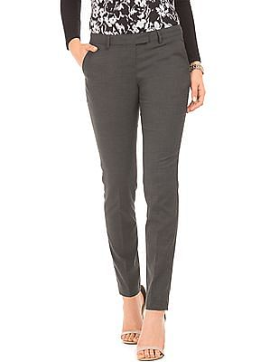 Arrow Woman Patterned Regular Fit Trousers