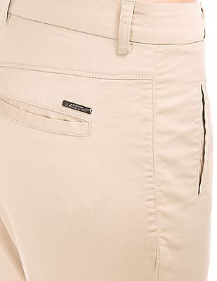 Arrow Woman Mid Rise Regular Fit Chinos