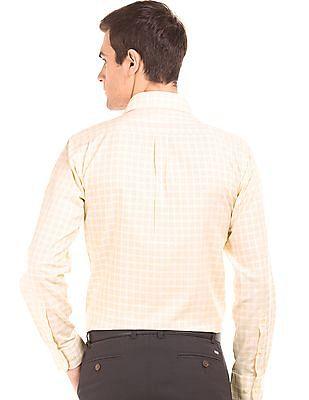 Arrow Long Sleeve Check Shirt