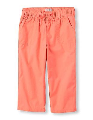 The Children's Place Girls Solid Beach Pants