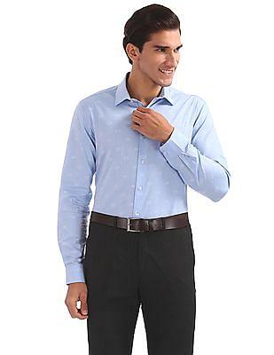 Arrow Slim Fit Collar Print Shirt