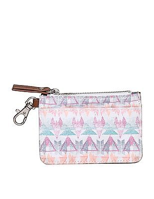 Aeropostale Printed Coin Pouch