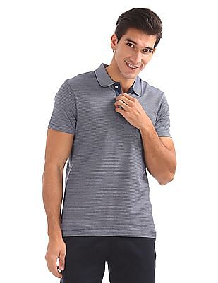 Arrow Regular Fit Patterned Polo Shirt