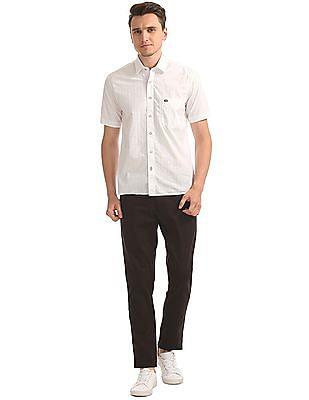 Arrow Sports Textured Regular Fit Shirt