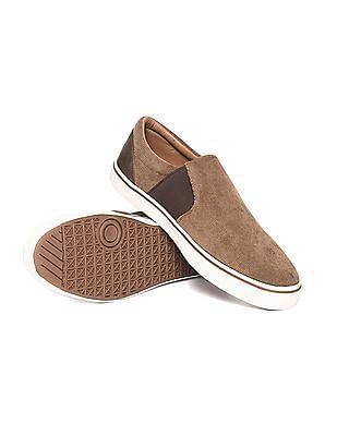 Aeropostale Textured Upper Slip On Shoes